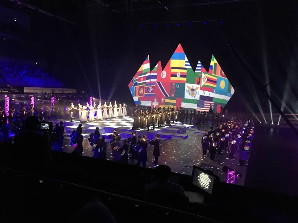 Baku Olympiad Opening Ceremony