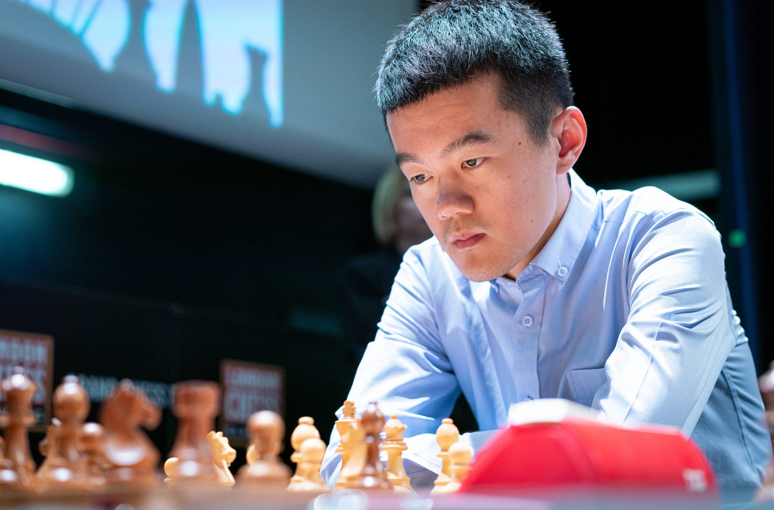 Ding Liren | Image courtesy of Grand Chess Tour