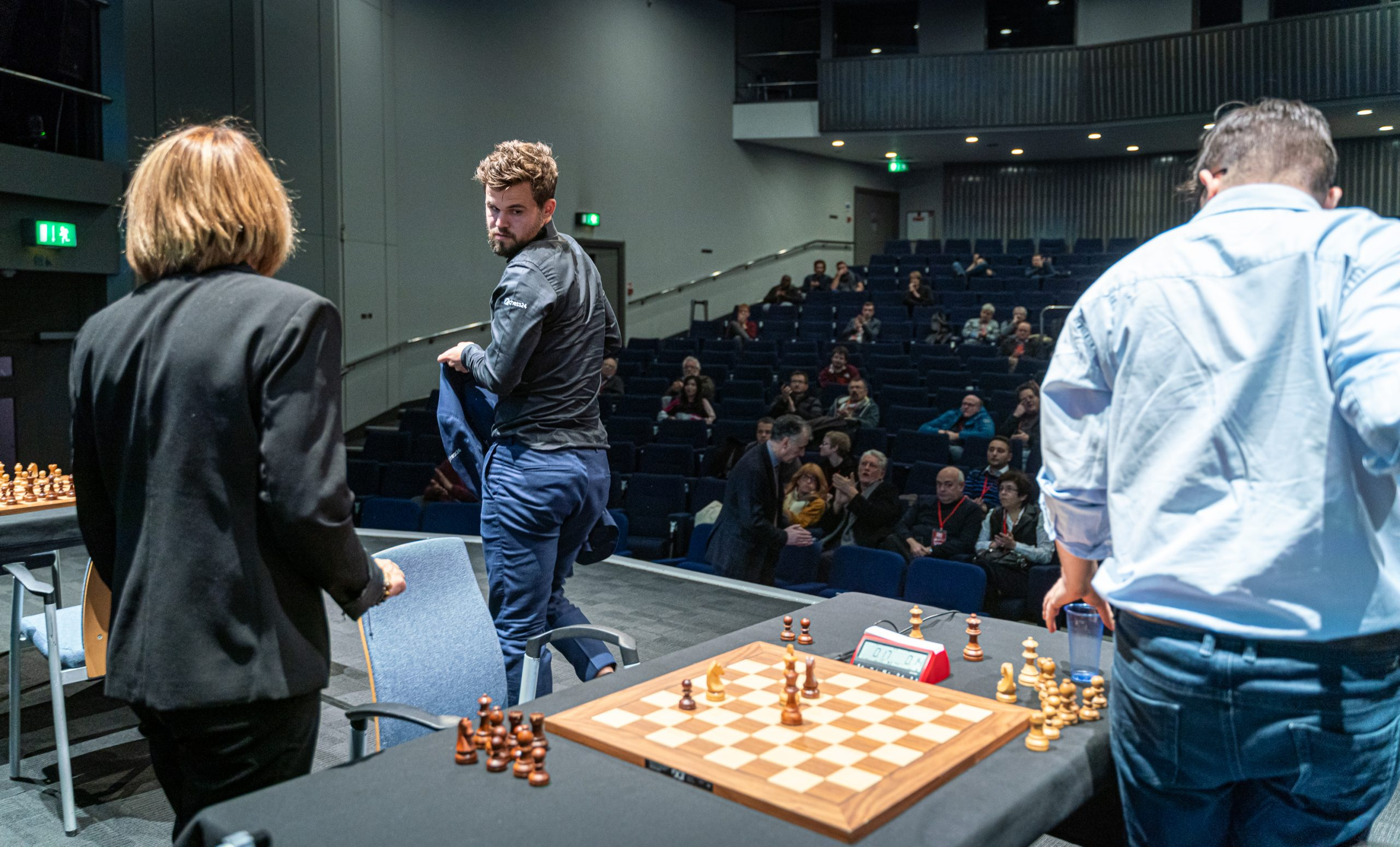 The world champ was outplayed and could only fight only for the 3rd place | Image courtesy of Grand Chess Tour