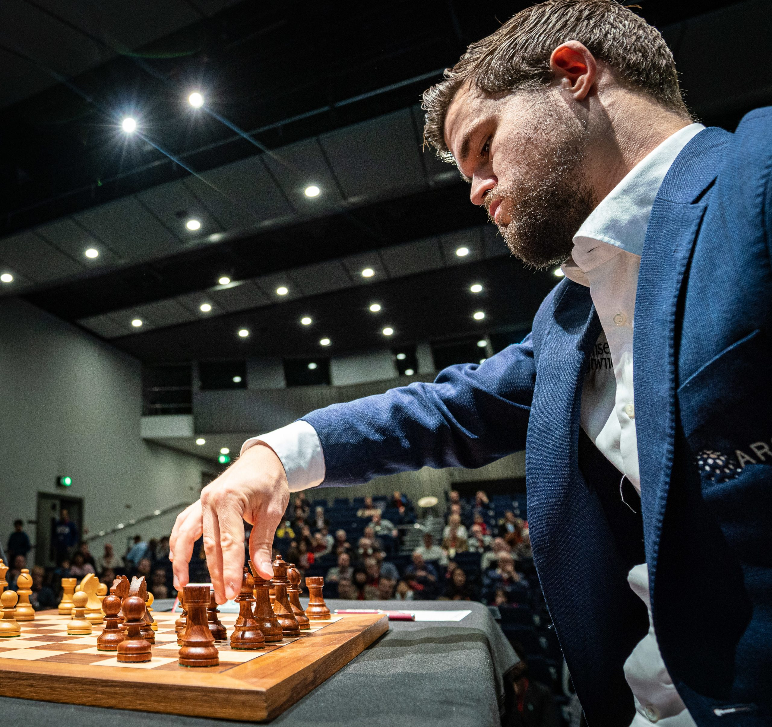 Magnus Carlsen || Image courtesy of Grand Chess Tour