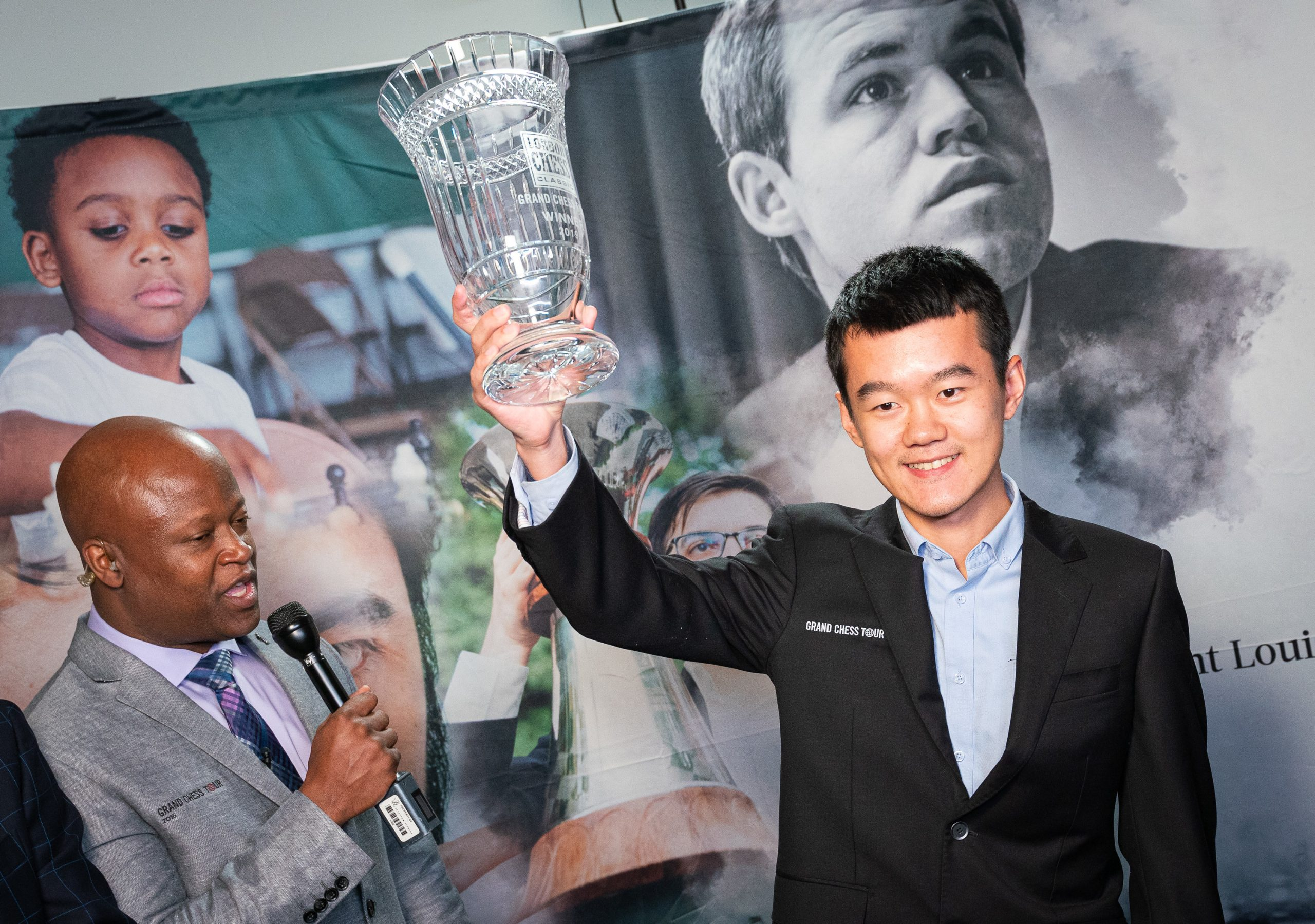 Congratulations to the winner of 2019 Grand Chess Tour, Ding Liren! | Image courtesy of Grand Chess Tour