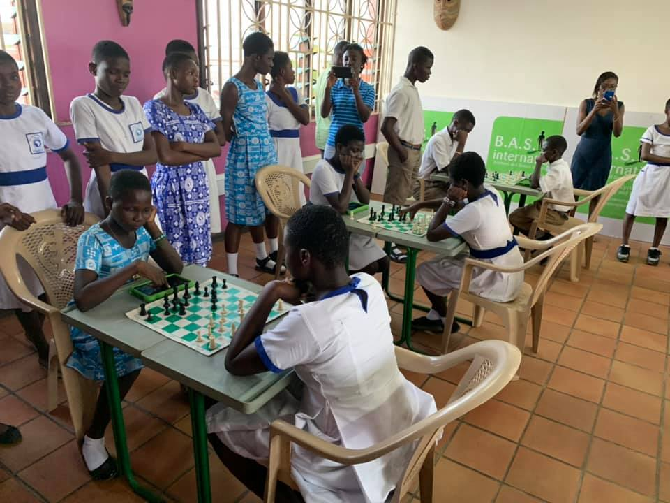 Though still a long way to go, chess continues to grow as part of the educational system in Ghana.