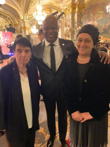These ladies are chess superstars! Former Women's World Champions and Golden Pawn prize winners: Nona Gaprindashvili, the first woman to be awarded the FIDE title of Grandmaster and Maya Chiburdanize