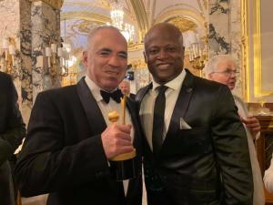 This man needs no introduction - Garry Kasparov!